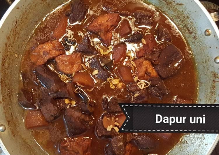 Cara memasak Semur daging betawi #bukanketo #bukandebm sedap