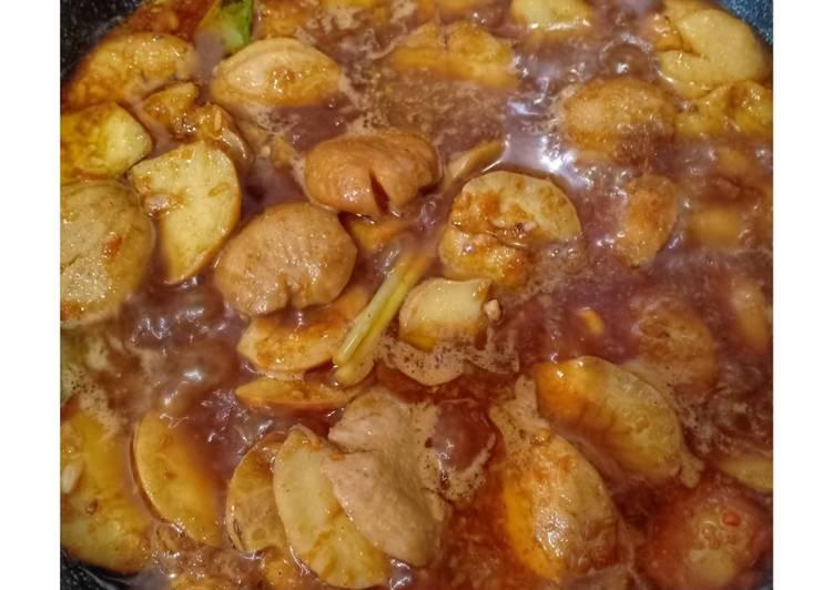 Cara Mudah memasak Semur jengkol pedas, empuk dan tidak bau yang bikin ketagihan