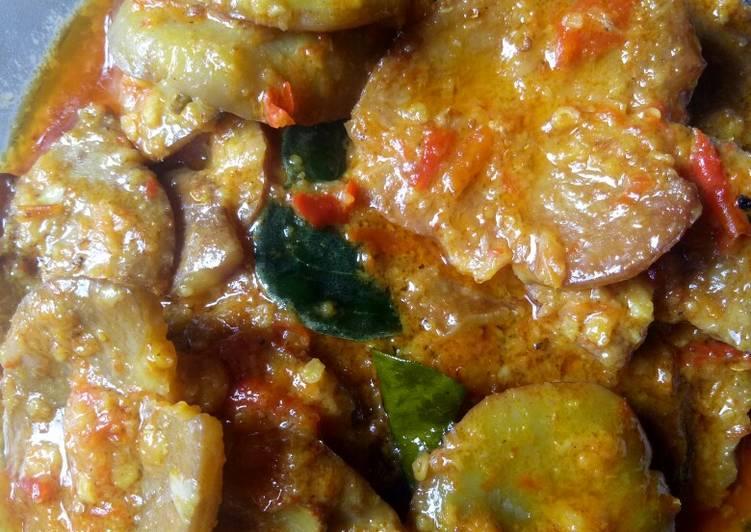 Cara memasak Semur jengkol pedas enak