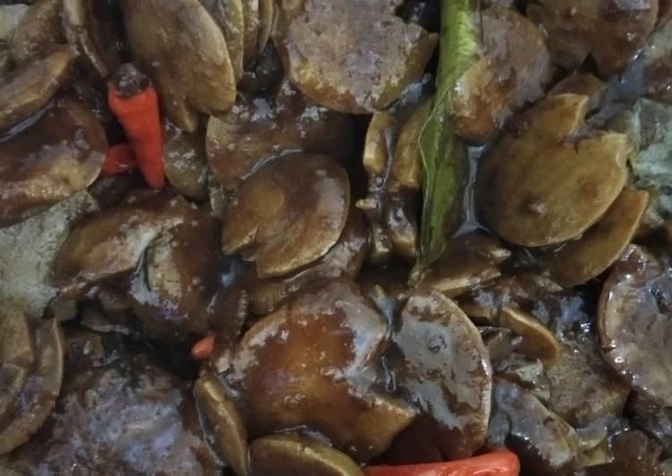 Cara Mudah memasak Semur Jengkol Manis legit ala resto