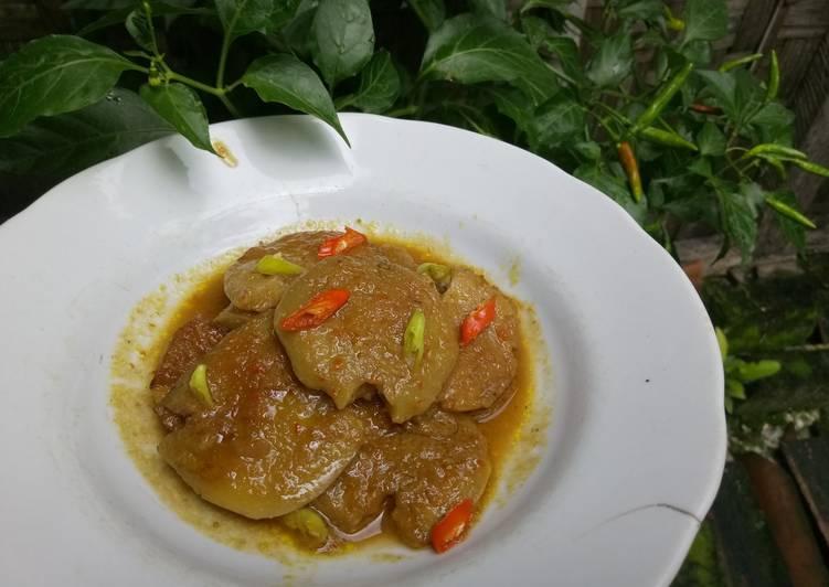 Cara memasak Semur jengkol pedas istimewa