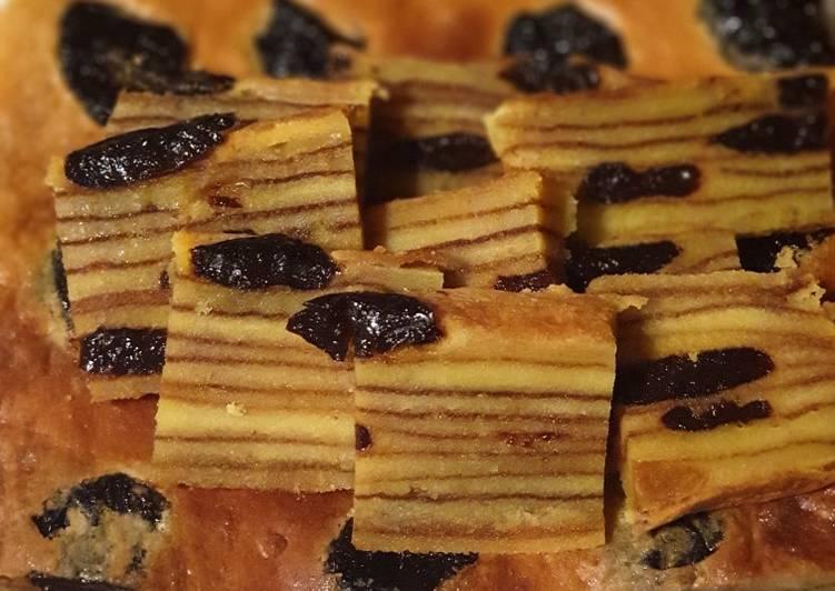 Cara Mudah memasak Lapis Legit Prunes yang menggugah selera