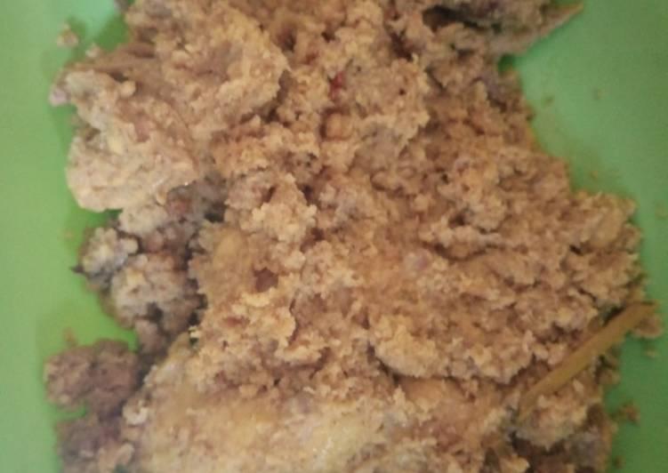 21.Serundeng ayam bumbu ndeso
