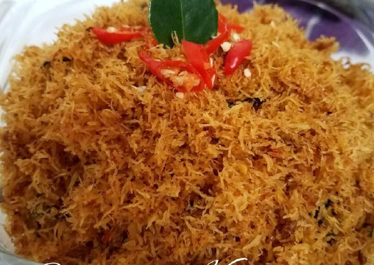 Resep memasak Serundeng Kelapa Enak Gurih Nagih | Resep asli dari nenek