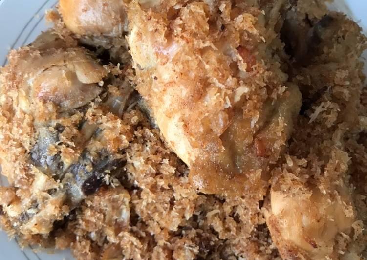 Resep: Serundeng ayam