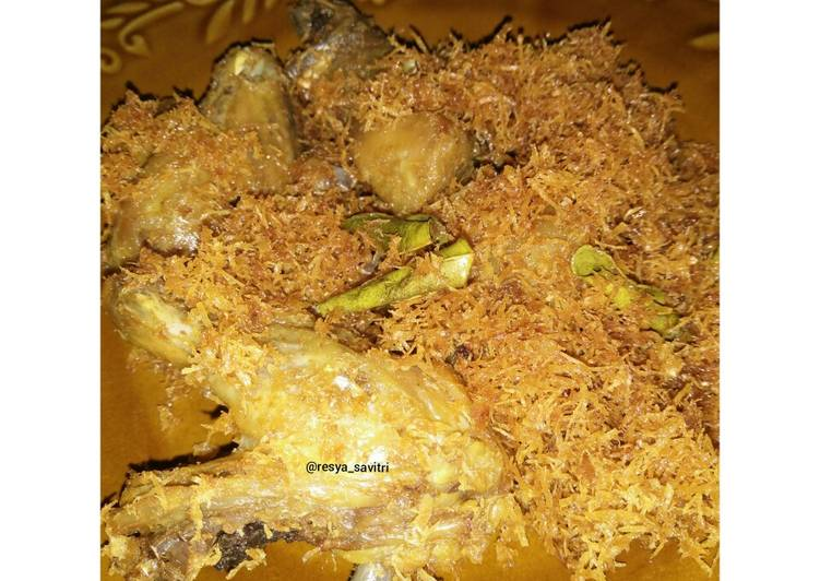 42. Ayam Goreng Serundeng