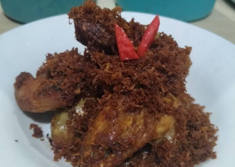 Cara Mudah membuat Ayam Goreng Serundeng yang bikin ketagihan