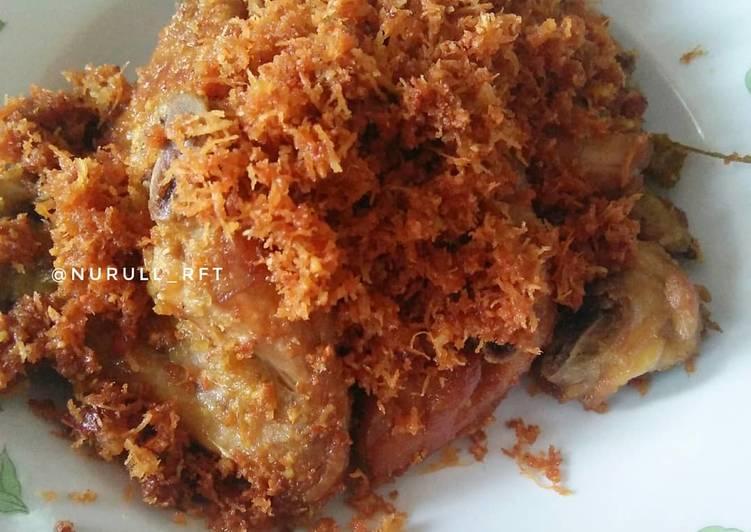Cara memasak Ayam Serundeng #menuramadhan yang bikin ketagihan