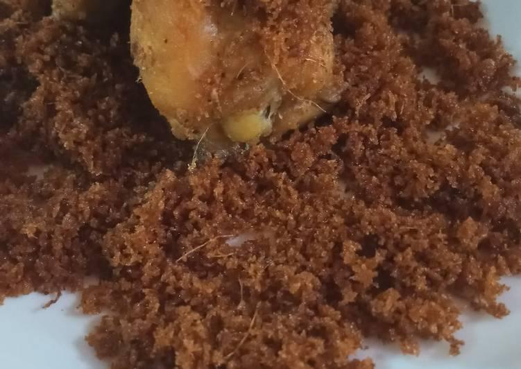 Resep: Bumbu ungkap ayam dan serundeng kelapa