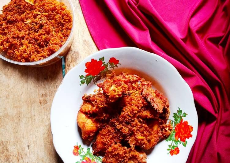 Ayam Serundeng Kelapa