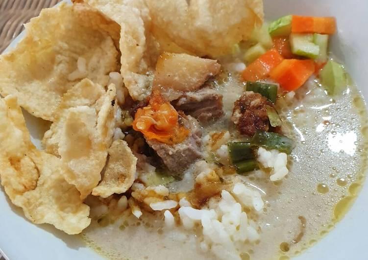 Cara memasak Soto betawi yang menggugah selera