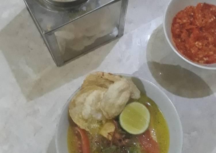 Resep memasak Soto betawi lezat