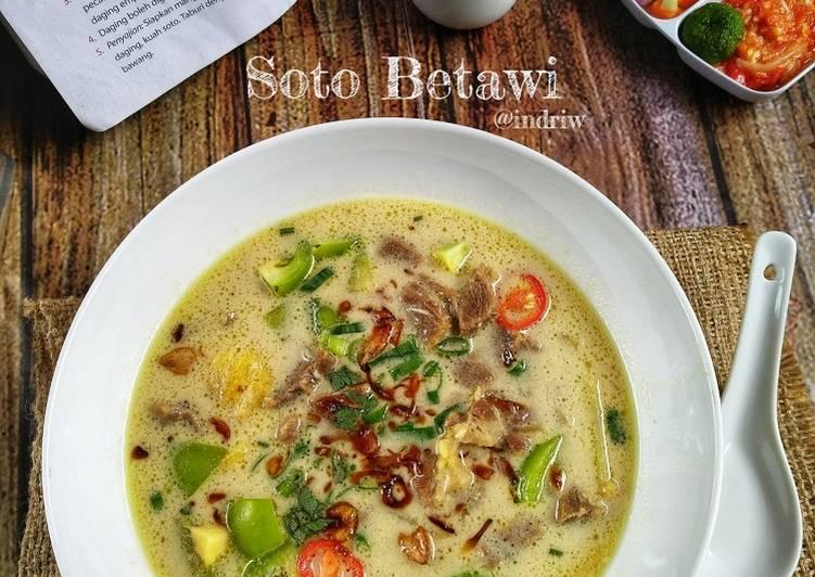 Resep mengolah Soto Betawi ala Xander's Kitchen sedap