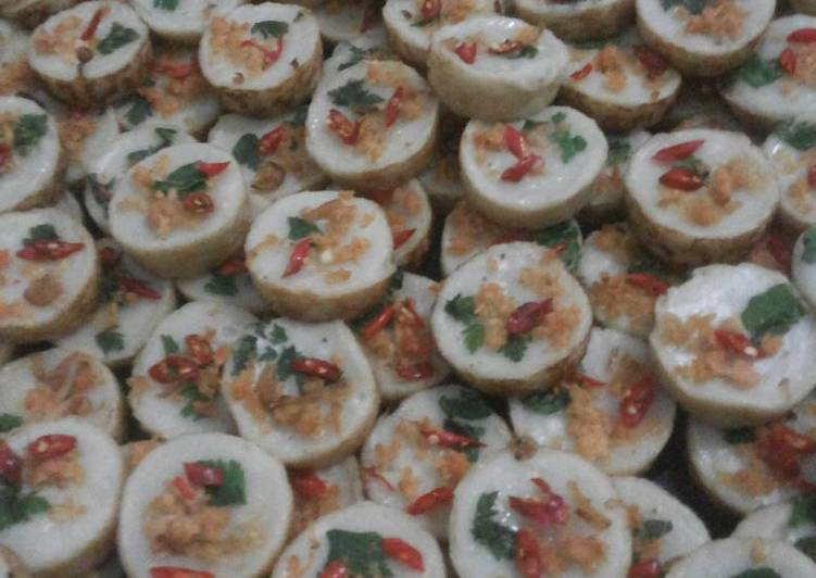 Cara Mudah memasak Talam udang yang menggugah selera