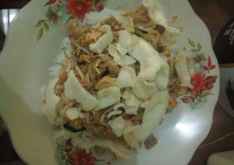 Resep: Toge goreng oncom ala resto