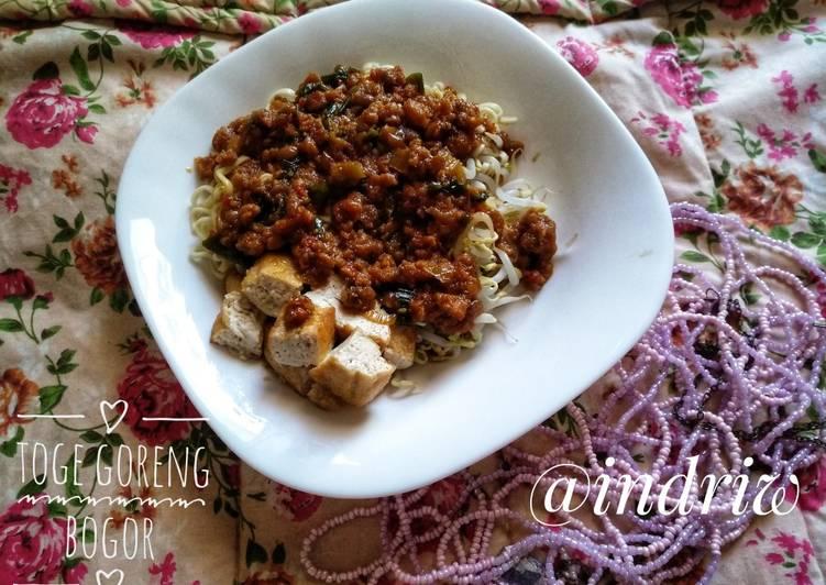 Resep memasak Toge Goreng Bogor #selasabisa sedap