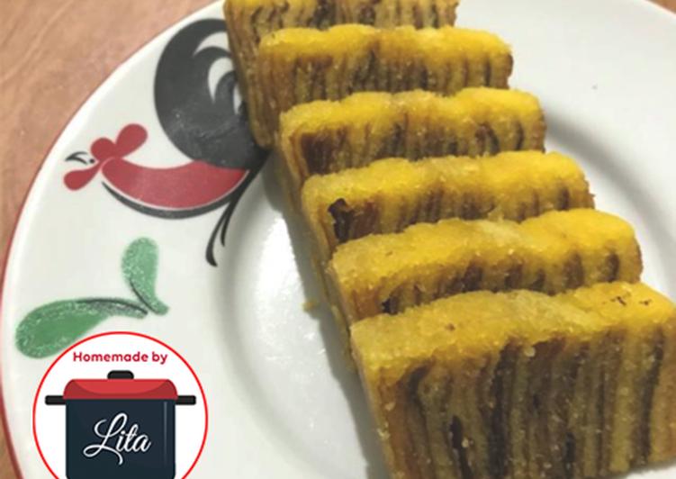 Resep mengolah Kue Lapis Legit lembut favorit #stepbystep #homemadebylita istimewa