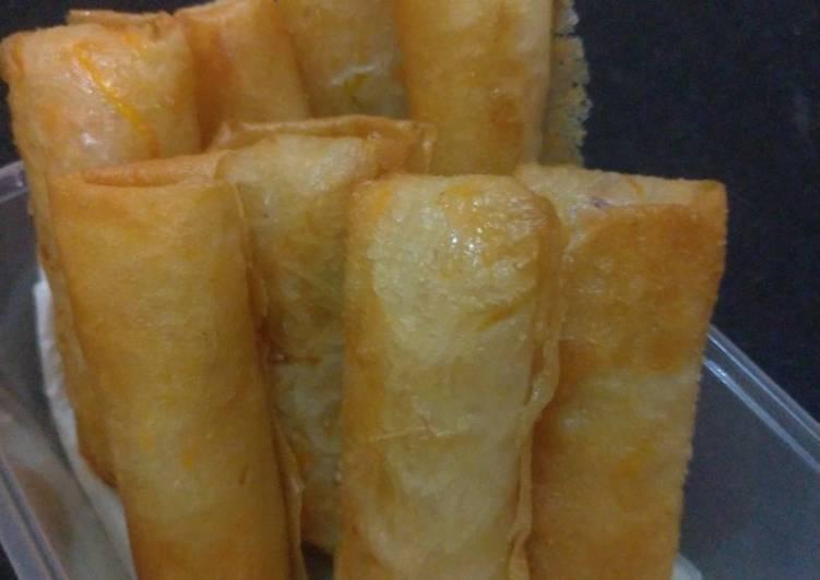 Cara membuat Kroket soun wortel sedap