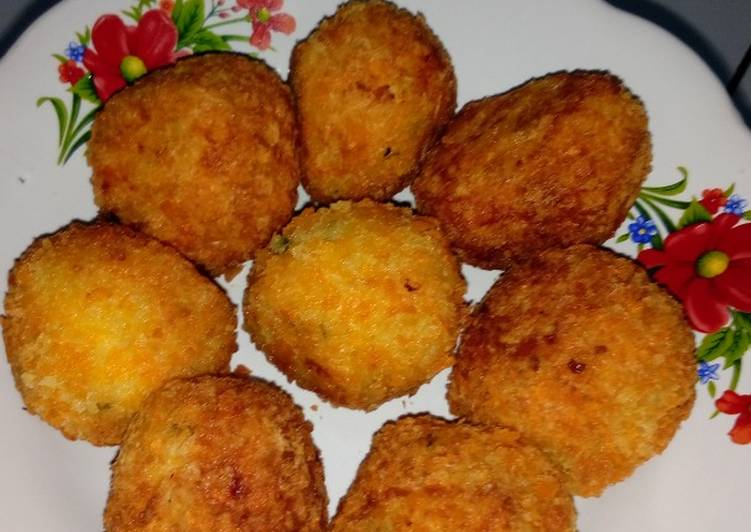 Resep: Kroket kentang enak