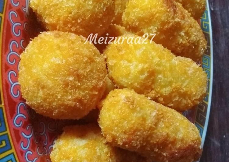Resep: Kroket kentang isi sayur istimewa