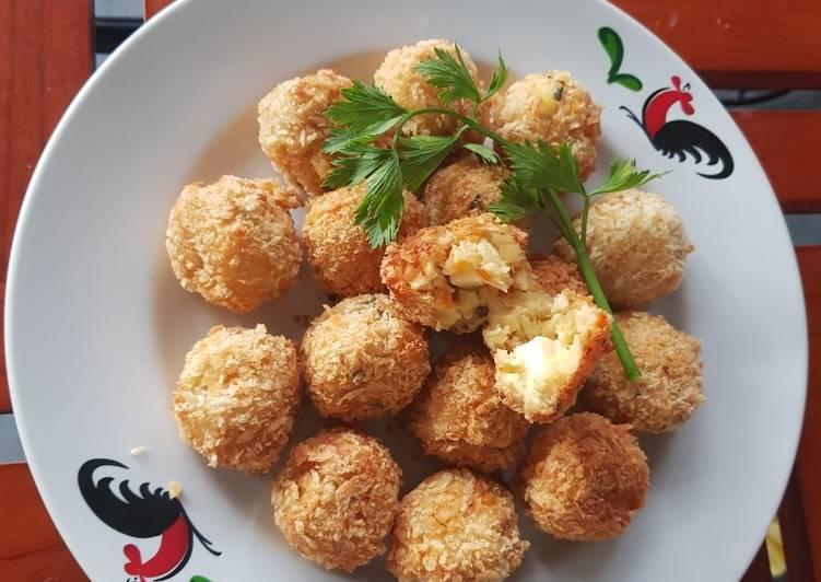 Resep: Kroket kentang keju lezat