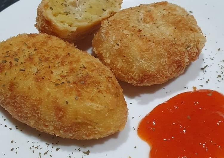 Cara Mudah memasak Kroket kentang sedap