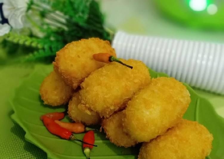 Resep: Kroket kentang isi ayam sayur lezat