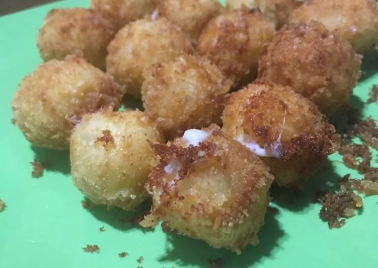 Kroket kentang mozarella