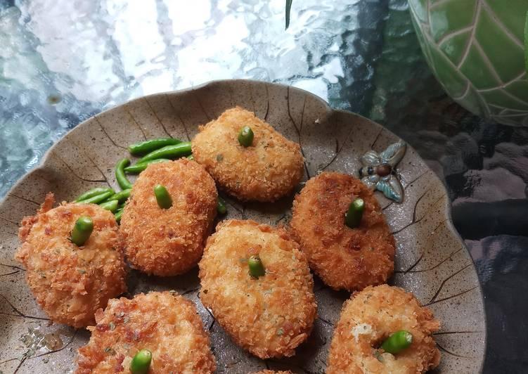 Resep: Kroket kentang daging cincang ala resto