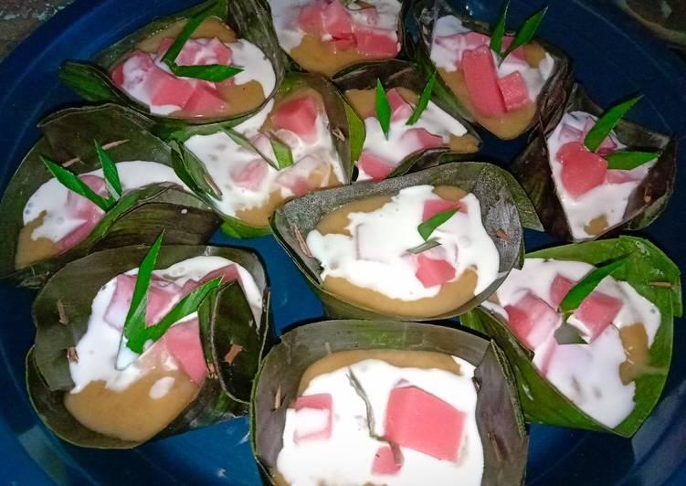 Resep mengolah Jongkong kue keranjang enak