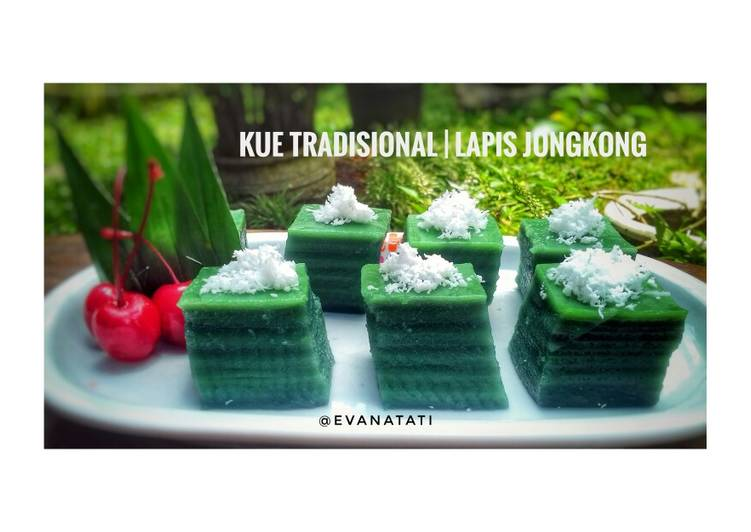Resep: Kue Tradisional Lapis Jongkong yang menggugah selera