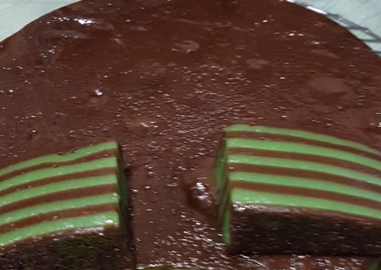Resep: Lapis sagu/kue pepe yang bikin ketagihan