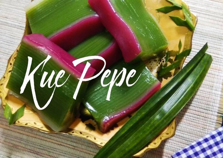 Resep: Kue Pepe yang menggugah selera