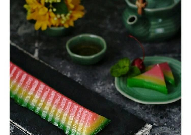 Resep: Lapis Kanji aka Kue Pepe enak