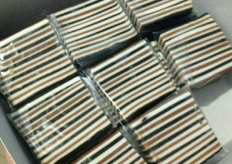 Resep: Kue pepe sagu mocca coklat yang bikin ketagihan