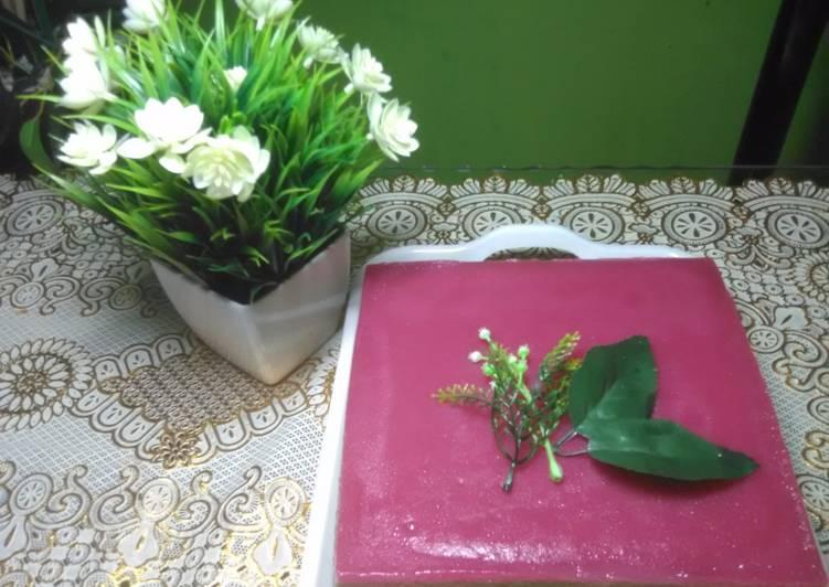 Cara mengolah Kue Pepe Betawi (aroma pandan dan daun jeruk) yang menggugah selera