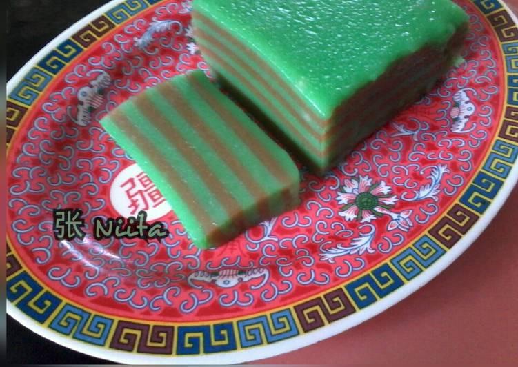 Resep: Lapis Kanji Kukus (Kue Pepe) ala resto