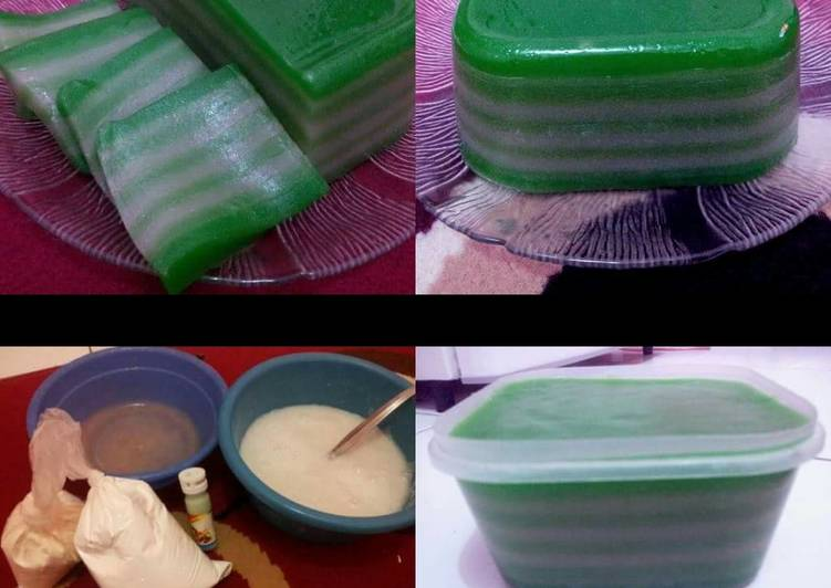 Resep: Kue lapis pepe simple enak
