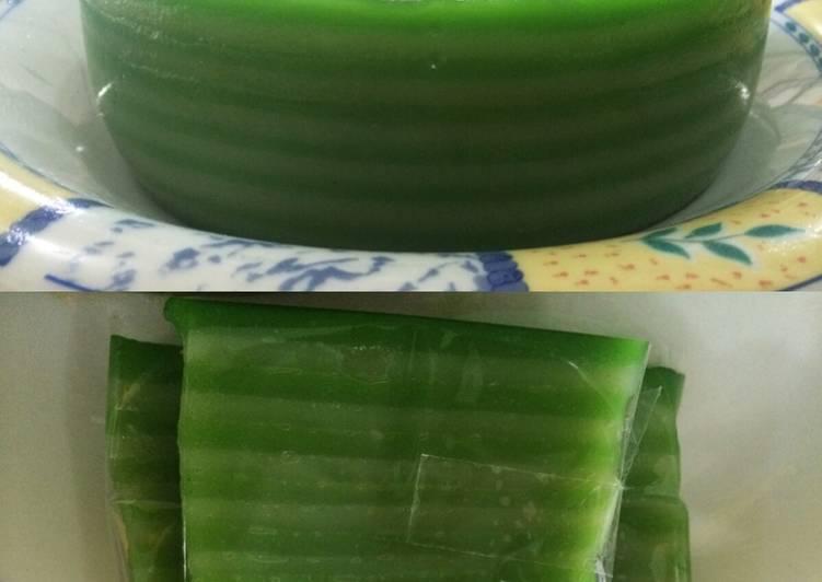 Resep: Kue lapis  sagu /kue pepe ala resto