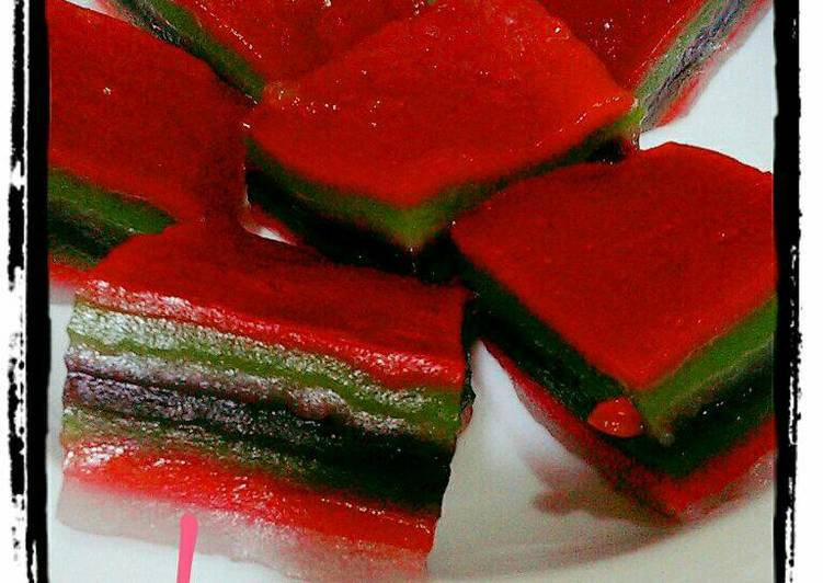 Resep: Kue lapis pepe yang menggugah selera