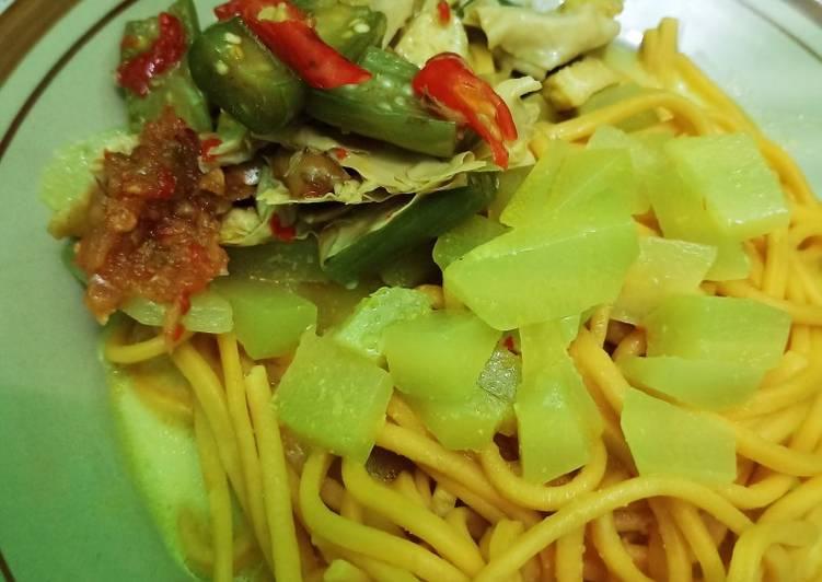 Cara memasak Mie gomak + Tauco medan istimewa