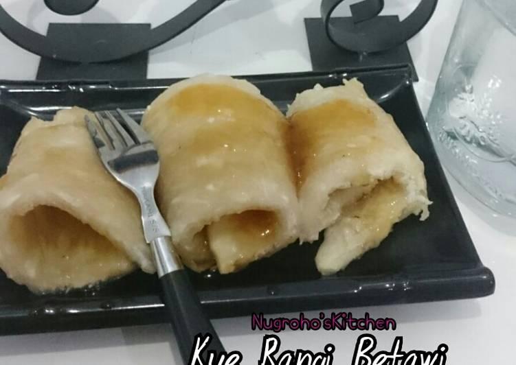 Resep: Kue Rangi Betawi ala resto