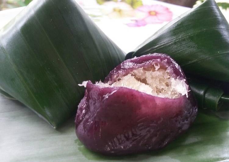 Resep: Kue bugis ubi ungu ala resto