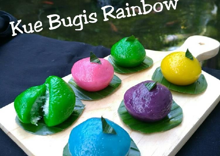 Kue Bugis Rainbow