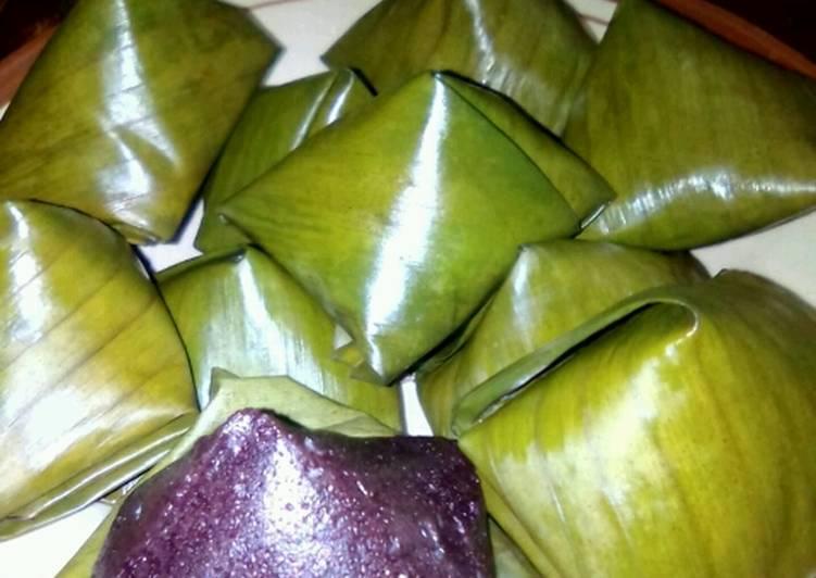 Cara Mudah memasak Kue bugis ketan hitam #JajananIndonesia