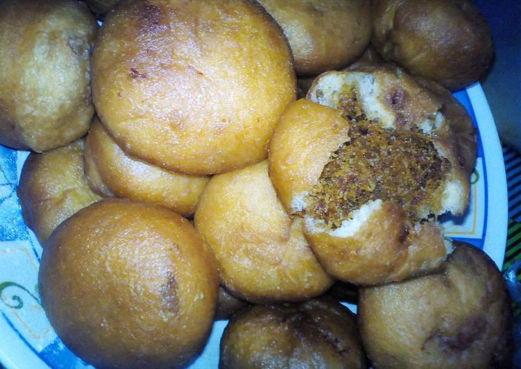 Resep: Kue untok (kue jadoel) Bisa kukus bisa digoreng #BikinRamadhanBe yang menggugah selera