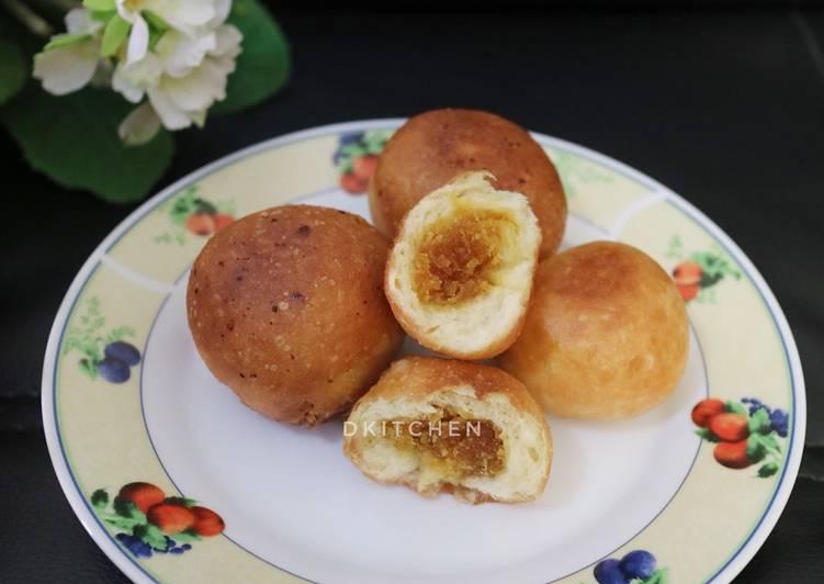 Cara membuat Kue Untuk-Untuk (Roti Goreng khas Banjar) ala resto