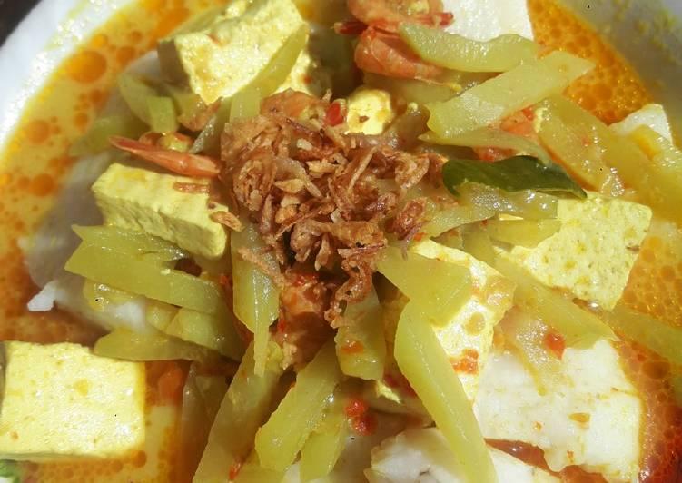Resep: Gulai Labu siam lontong sayur betawi