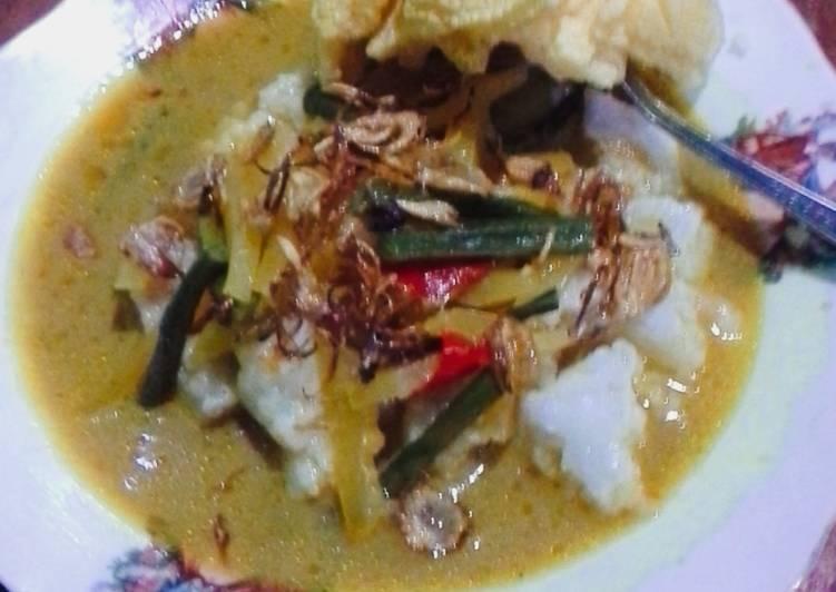 Resep: Lontong sayur betawi by dapoer yunique yang menggugah selera
