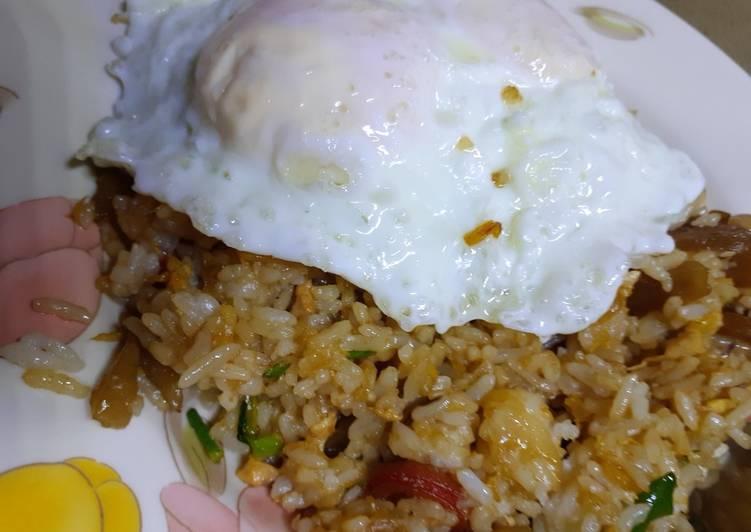 Cara mengolah Nasi Goreng Gila (gampang, enak dan anti gagal) istimewa